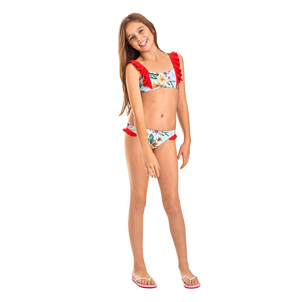 The Little Mermaid Floral Swimsuit for Girls by ROXY Girl