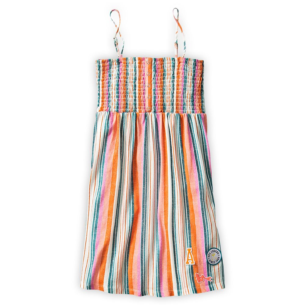 디즈니 X 록시 인어공주 원피스 The Little Mermaid Striped Dress for Girls by ROXY Girl