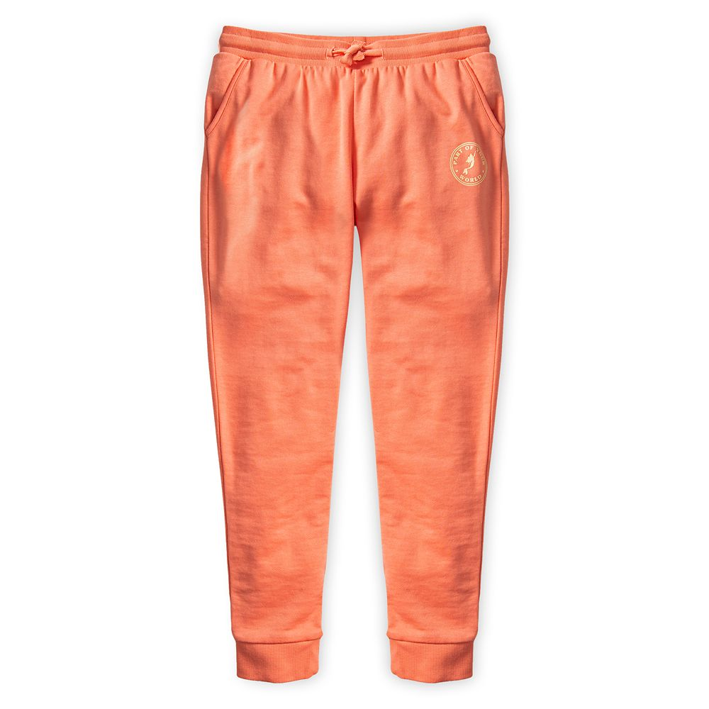 The Little Mermaid Sweatpants for Girls by ROXY Girl – Coral