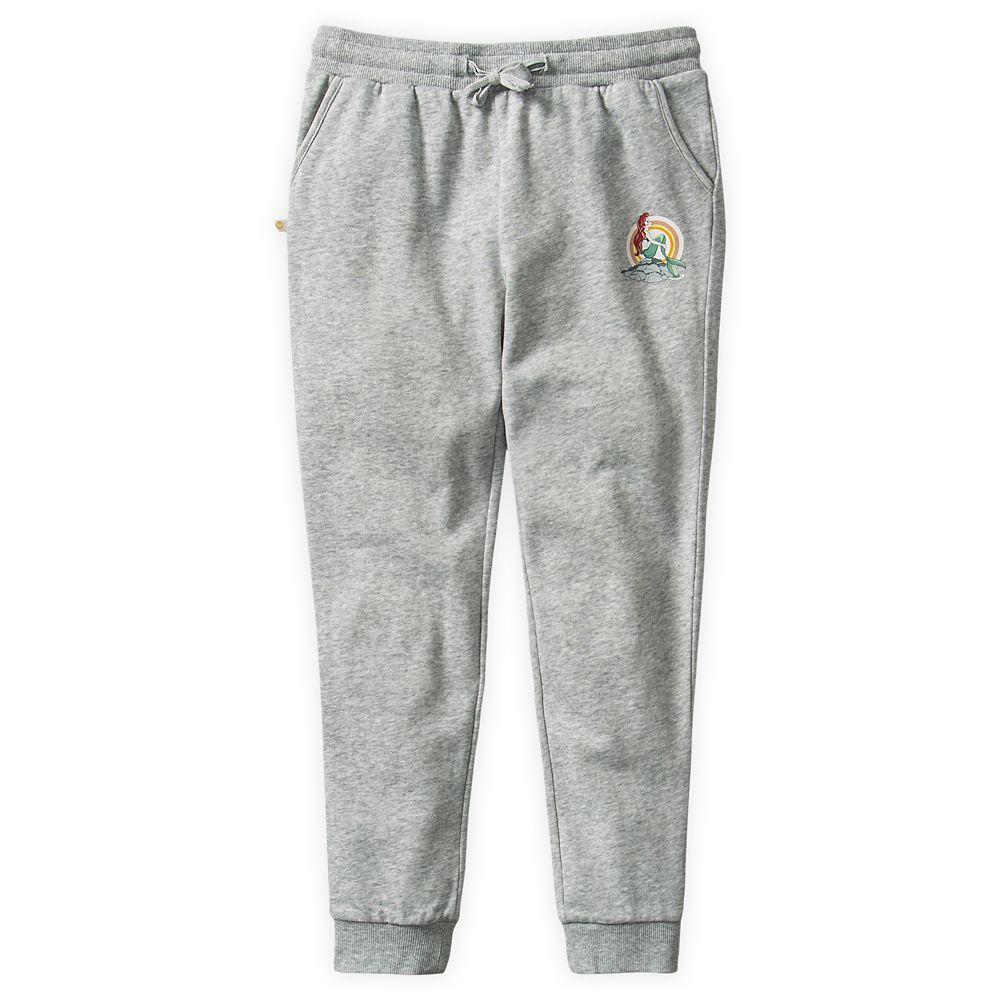 The Little Mermaid Sweatpants for Girls by ROXY Girl – Gray