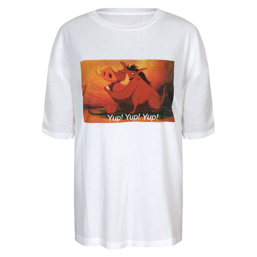 Pumbaa T-Shirt for Women by Minkpink – The Lion King