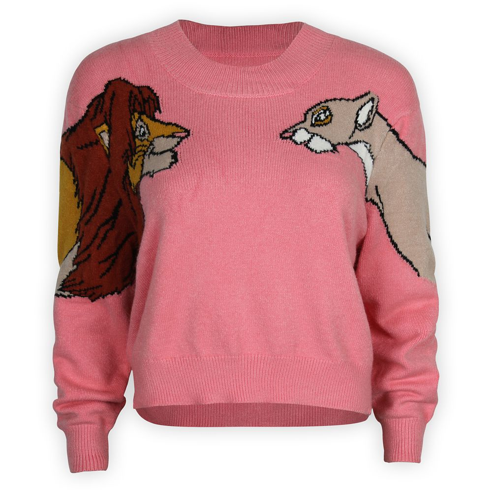 Simba and Nala Sweater for Women by Minkpink