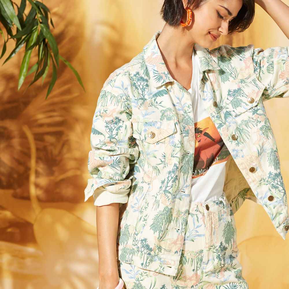The Lion King Jungle Jacket for Women by Minkpink