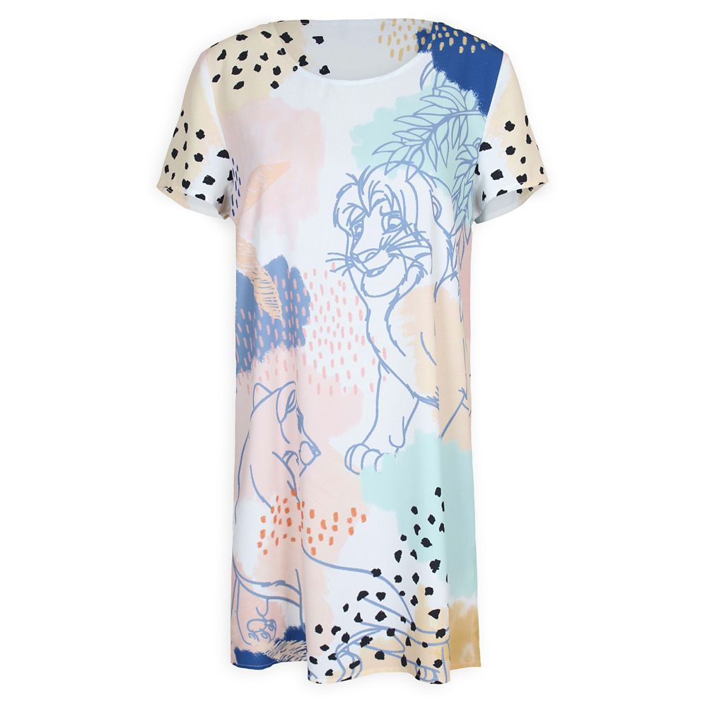 The Lion King Tee Dress for Women by Minkpink