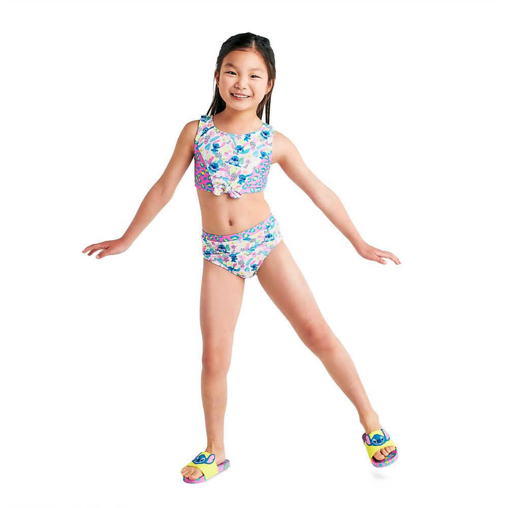 Stitch Two-Piece Swimsuit for Girls