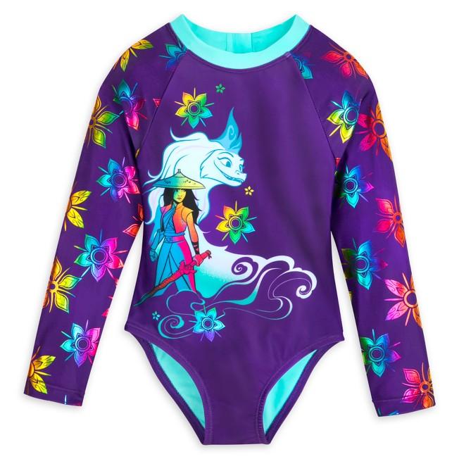Raya and Sisu Swimsuit for Girls – Disney Raya and the Last Dragon