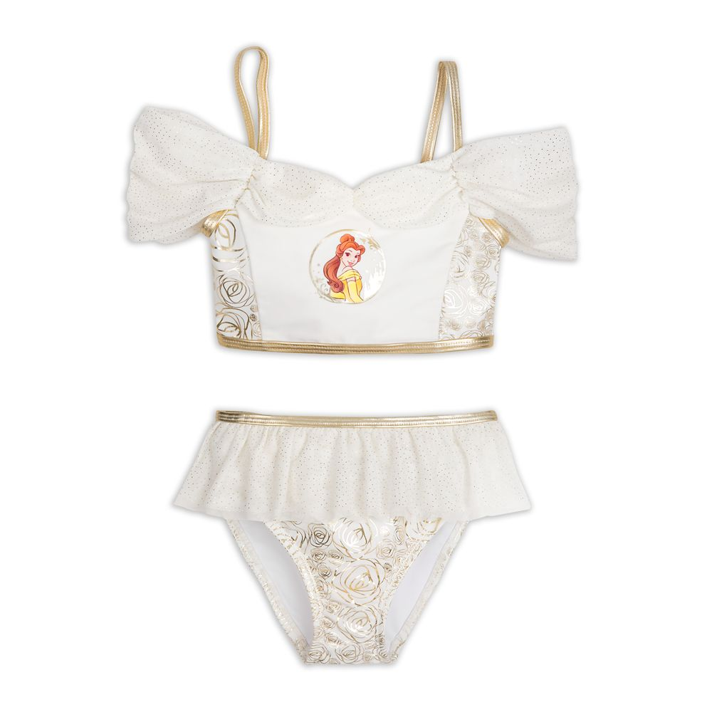 Belle Deluxe Swimsuit Set for Girls – Beauty and the Beast