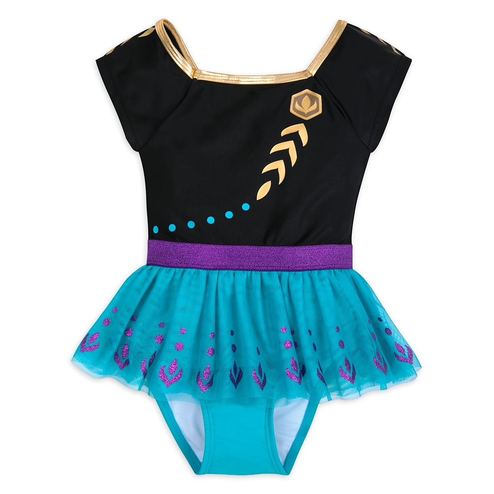 Anna Costume Swimsuit for Girls – Frozen 2