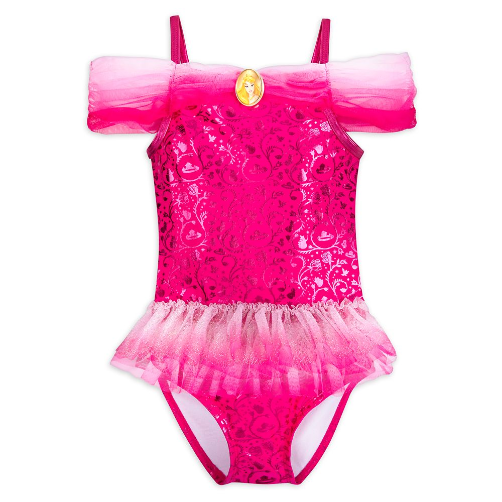 Aurora Costume Swimsuit for Girls
