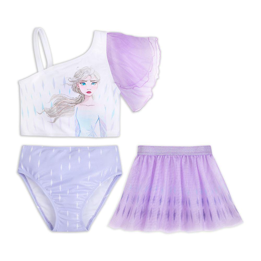 Elsa Deluxe Swimsuit Set for Girls – Frozen 2