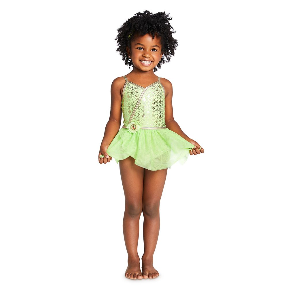 Tiana Costume Swimsuit for Girls – The Princess and the Frog