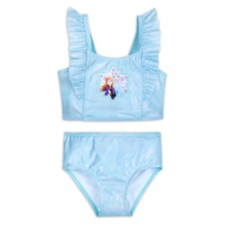 Anna and Elsa Two-Piece Swimsuit for Girls – Frozen 2