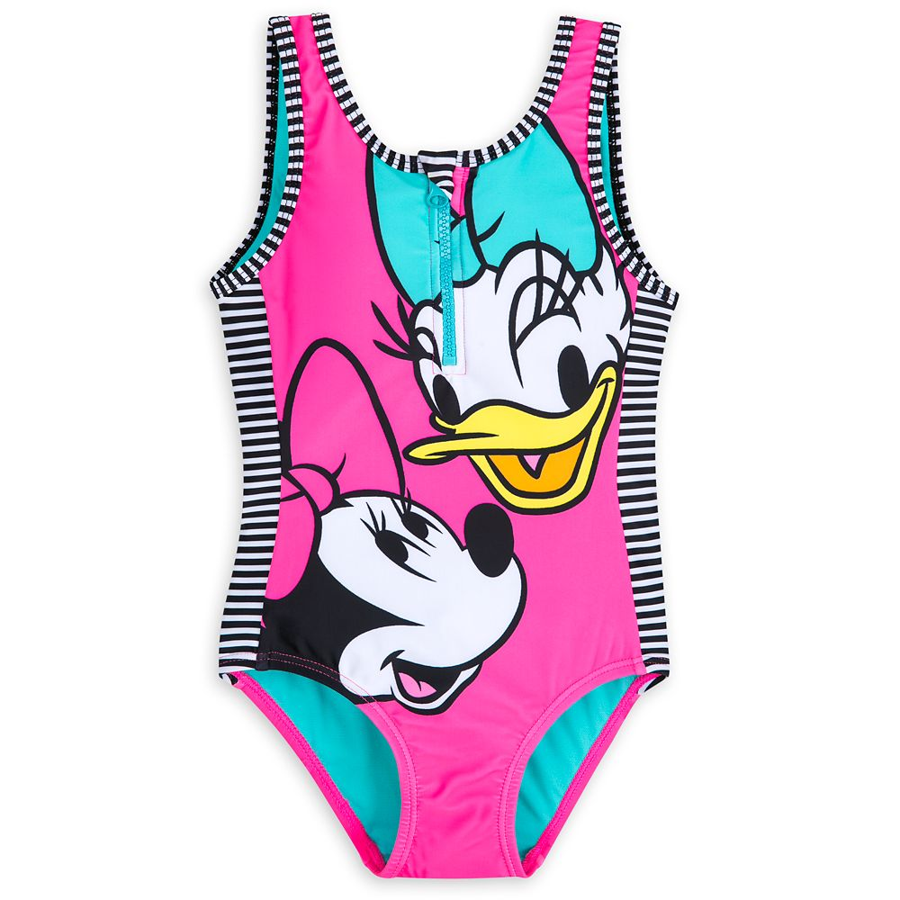 Minnie Mouse and Daisy Duck Swimsuit for Girls