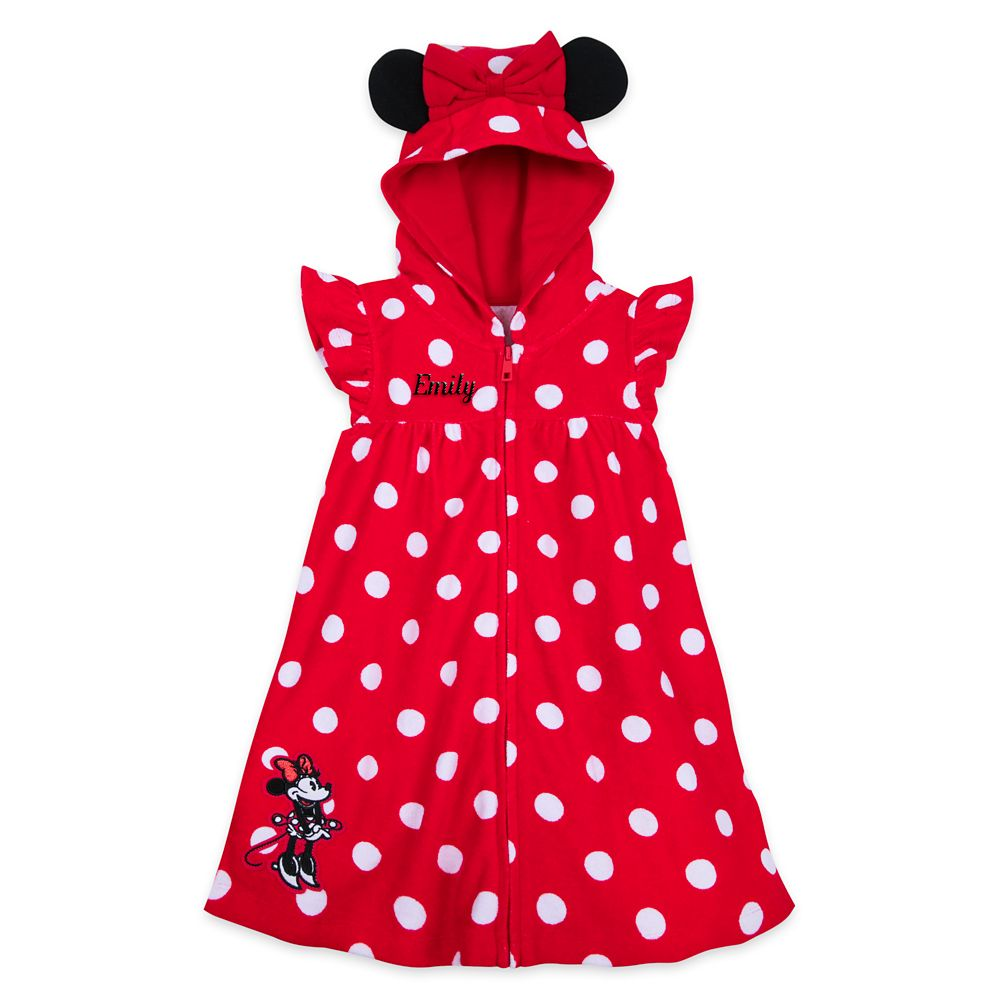 Minnie Mouse Red Cover-Up for Girls