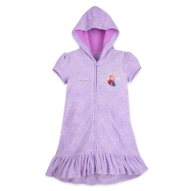 Elsa and Anna Cover-Up for Girls – Frozen 2 – Personalized