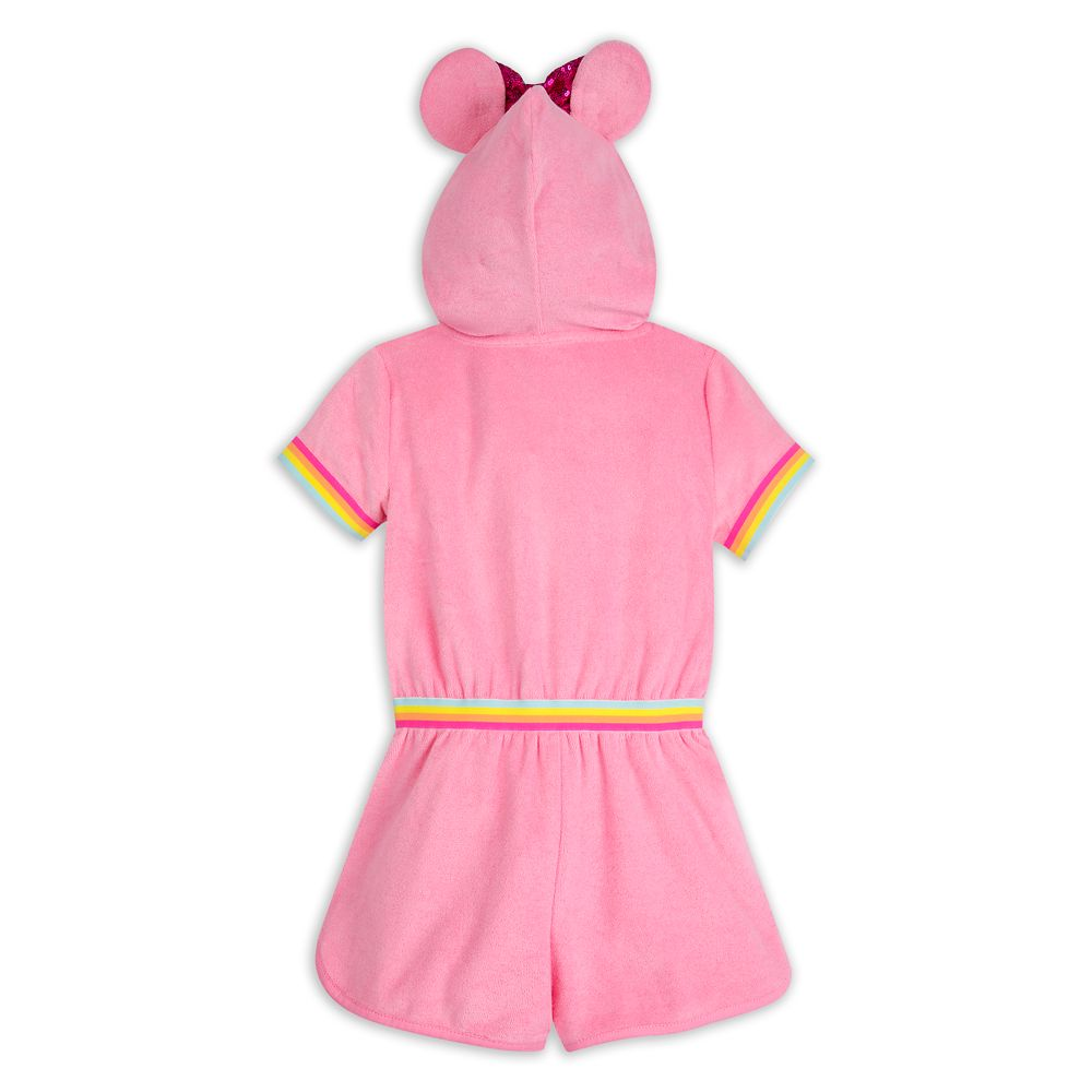 Minnie Mouse Pink Swim Cover-Up for Girls