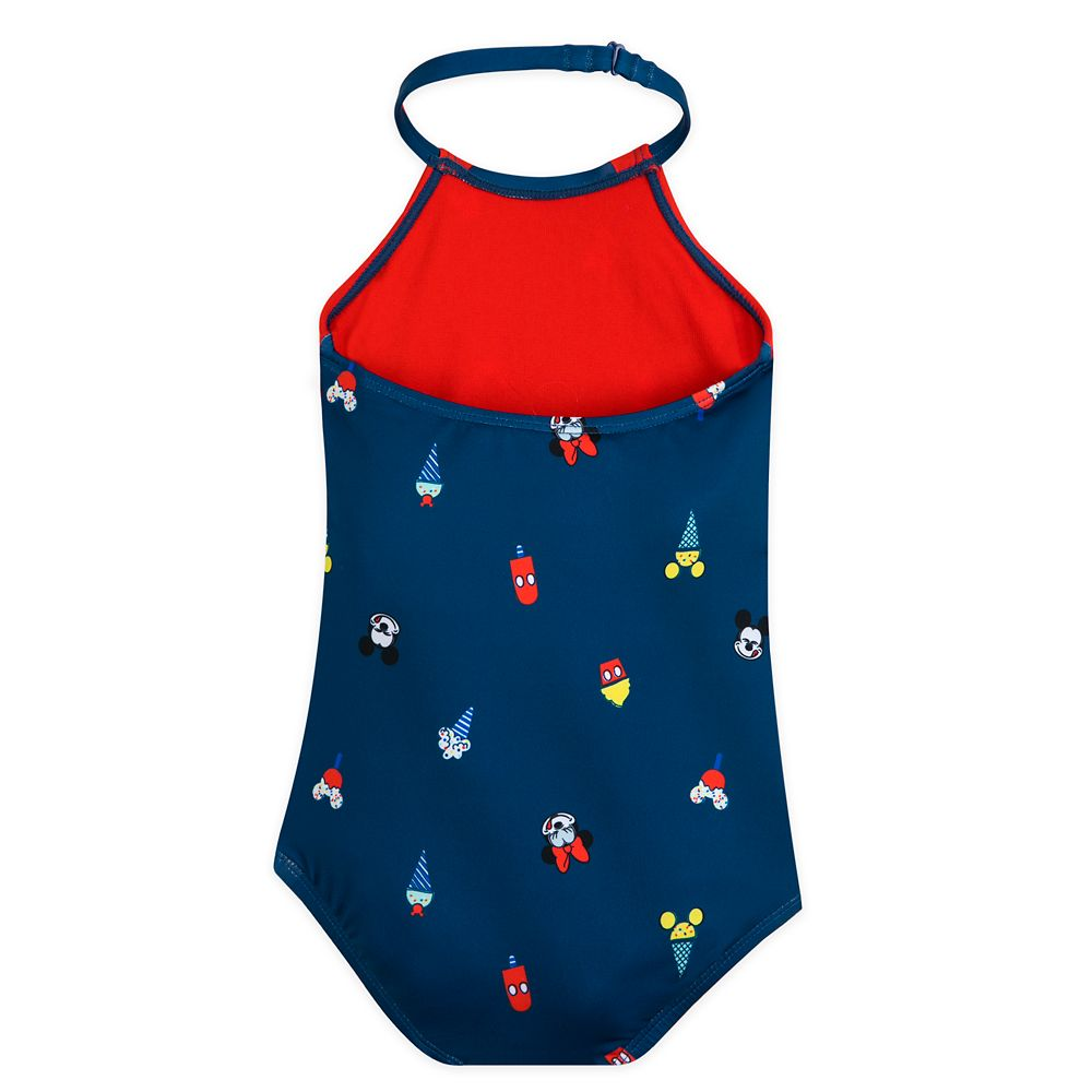 Mickey and Minnie Mouse Summer Fun Swimsuit for Girls