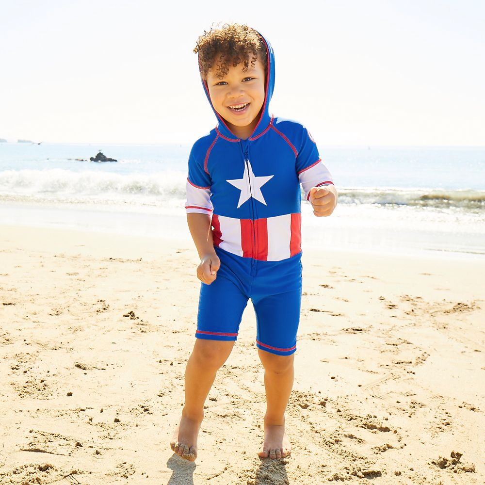 Captain America Wetsuit for Kids