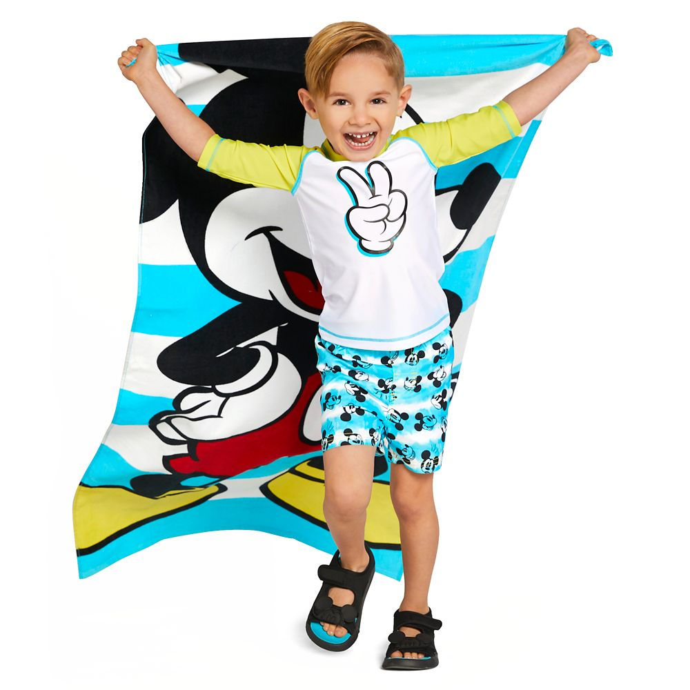 Mickey Mouse Rash Guard for Boys
