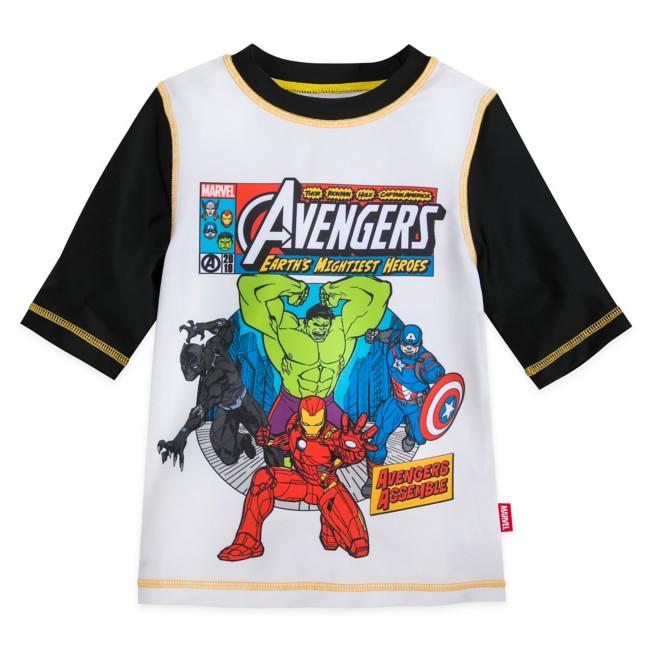 Avengers Rash Guard for Boys