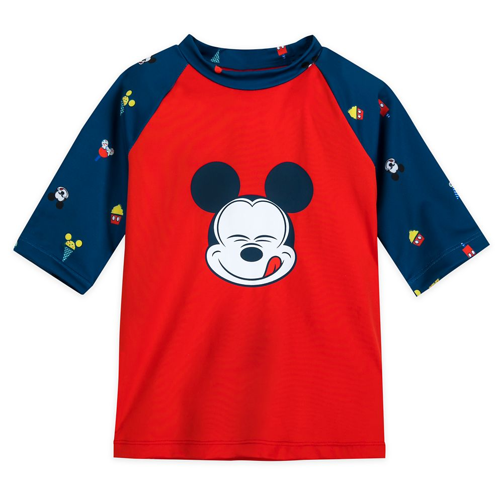 Mickey Mouse Summer Fun Rash Guard for Boys