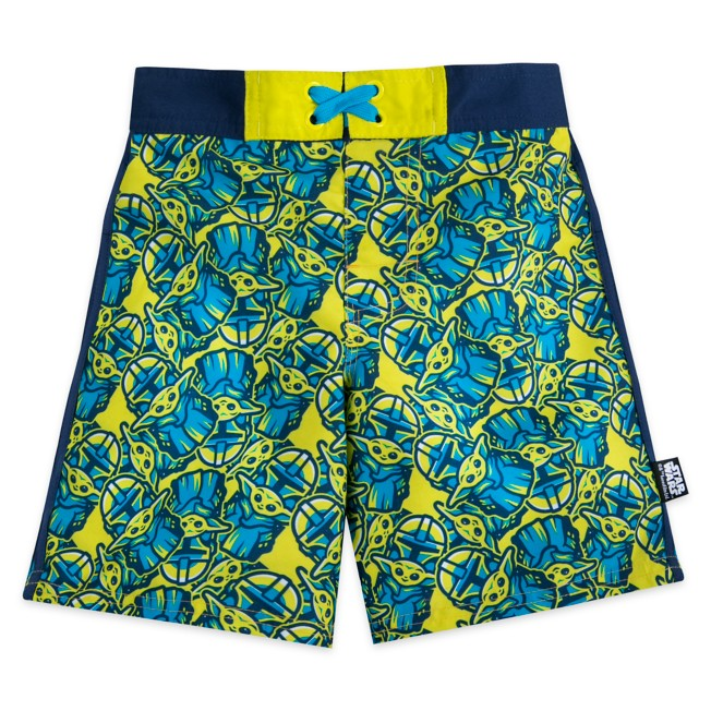 Star Wars: The Mandalorian Swim Trunks for Boys