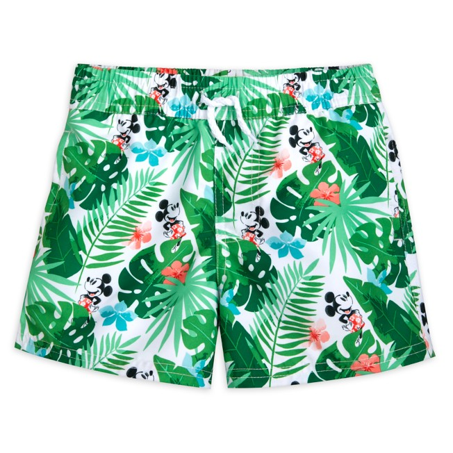 Mickey Mouse Tropical Swim Trunks for Boys