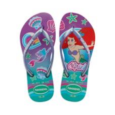 Ariel Flip Flops for Kids by Havaianas – The Little Mermaid