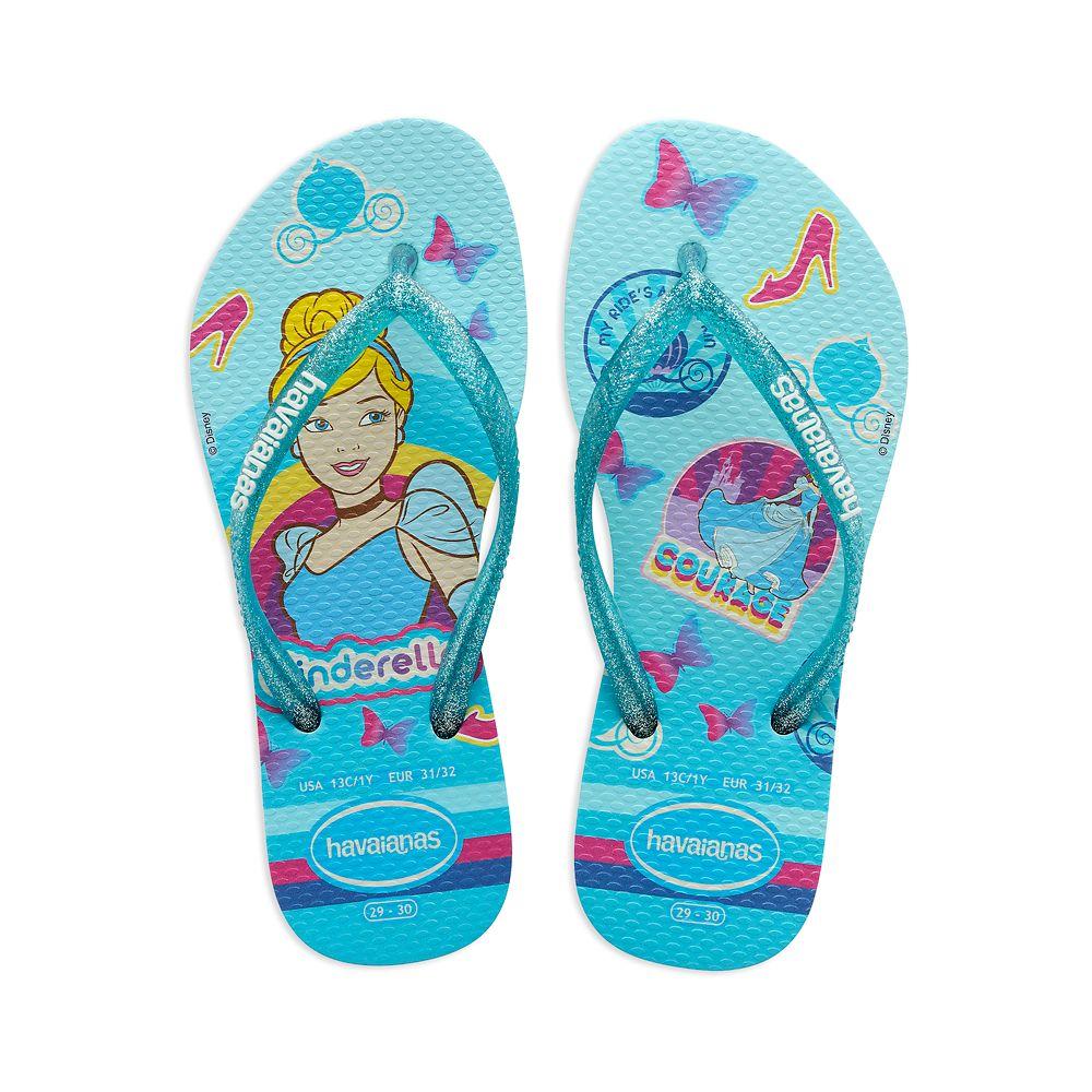 Cinderella Flip Flops for Kids by Havaianas