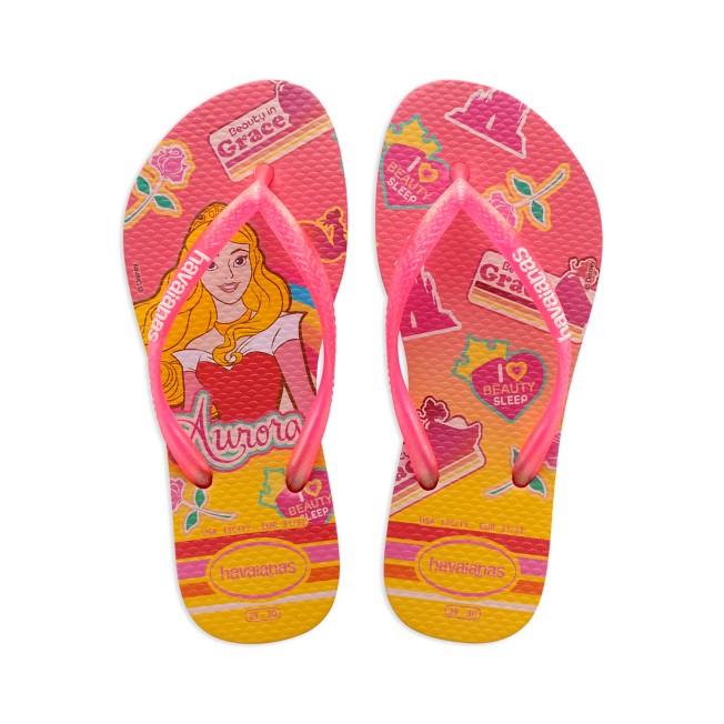 Aurora Flip Flops for Kids by Havaianas – Sleeping Beauty