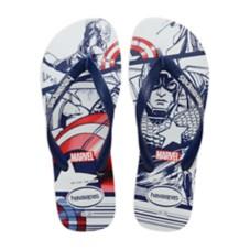 Captain America Flip Flops for Kids by Havaianas