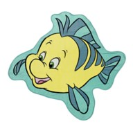 Flounder Deluxe Beach Towel – The Little Mermaid