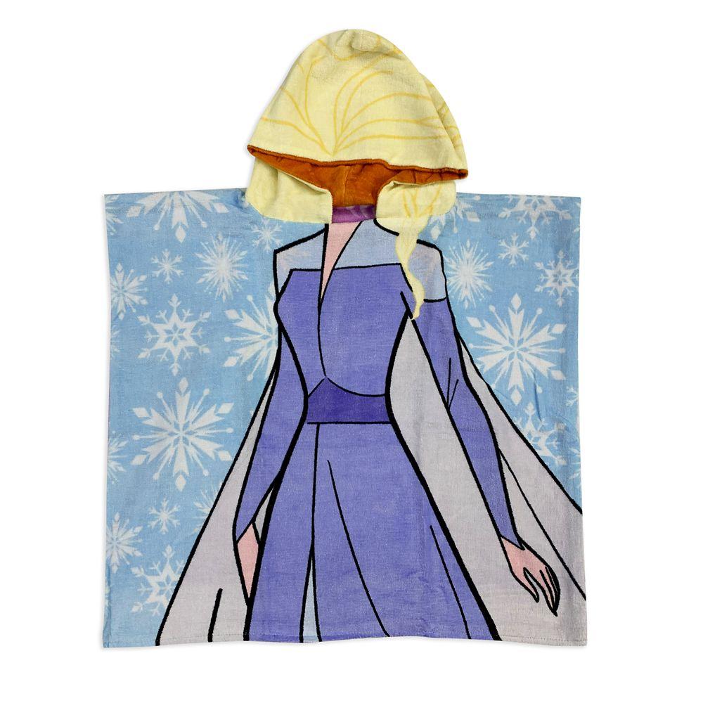 shopdisney.com - Anna and Elsa Reversible Hooded Towel  Frozen 2 Official shopDisney 24.99 USD