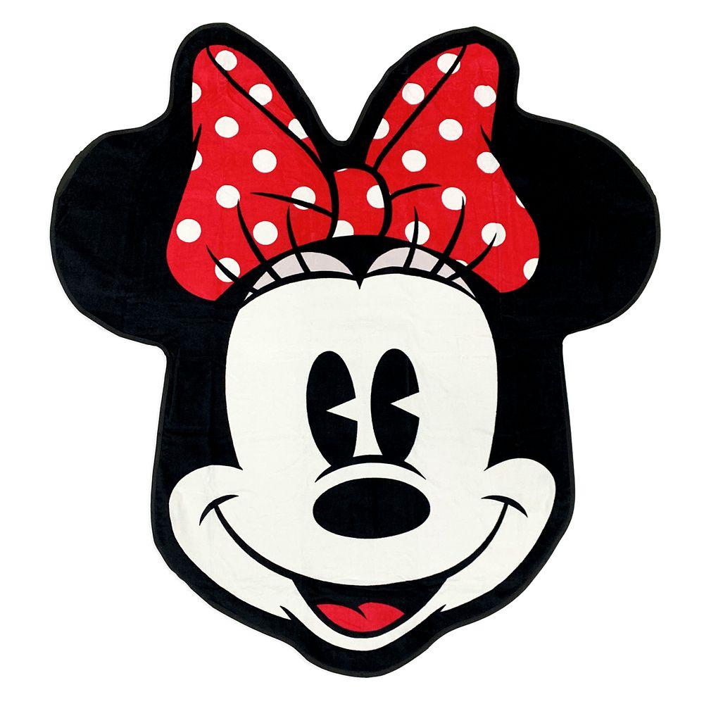 shopdisney.com - Minnie Mouse Deluxe Beach Towel Official shopDisney 24.99 USD