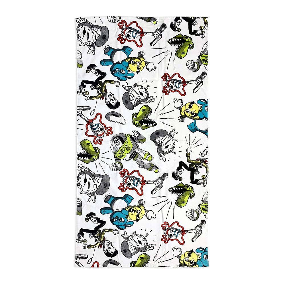 Toy Story 4 Beach Towel