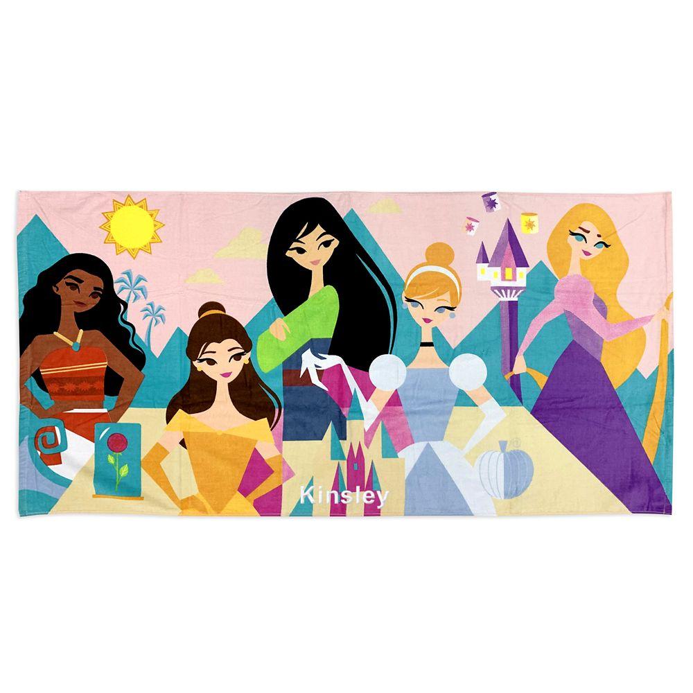 shopdisney.com - Disney Princess Beach Towel 16.99 USD