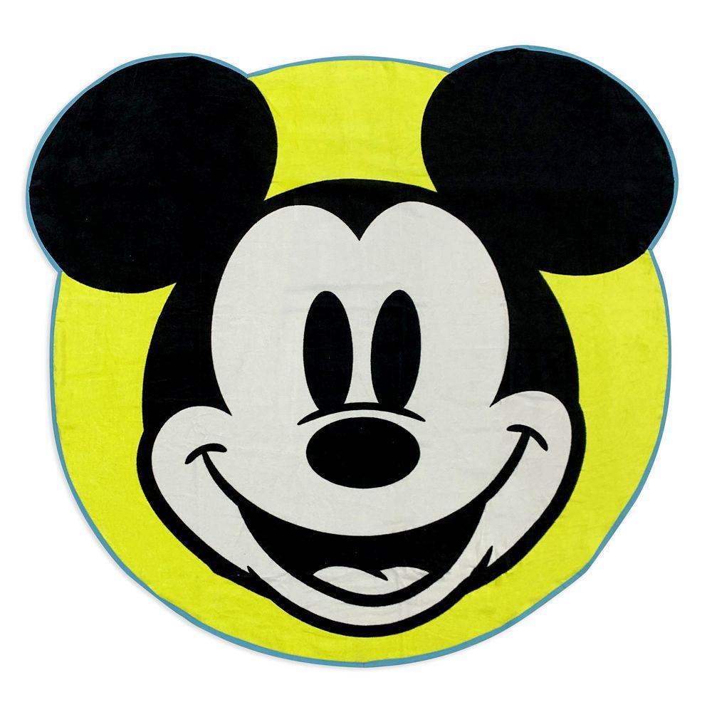 shopdisney.com - Mickey Mouse Deluxe Beach Towel Official shopDisney 24.99 USD