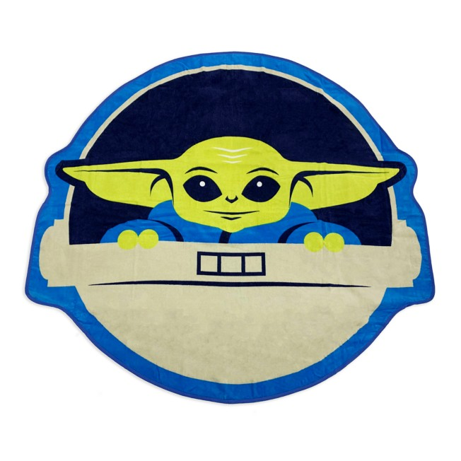 The Child Deluxe Beach Towel –Star Wars: The Mandalorian