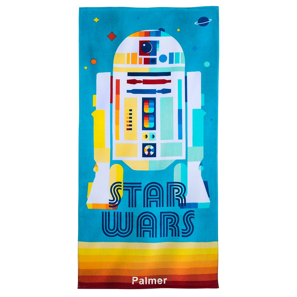 shopdisney.com - R2-D2 Beach Towel  Star Wars Official shopDisney 16.99 USD