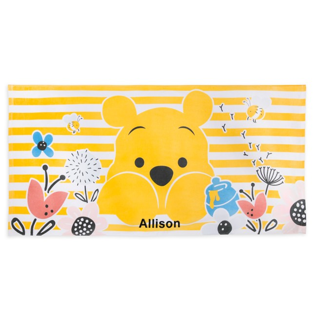 Winnie the Pooh Beach Towel – Personalized