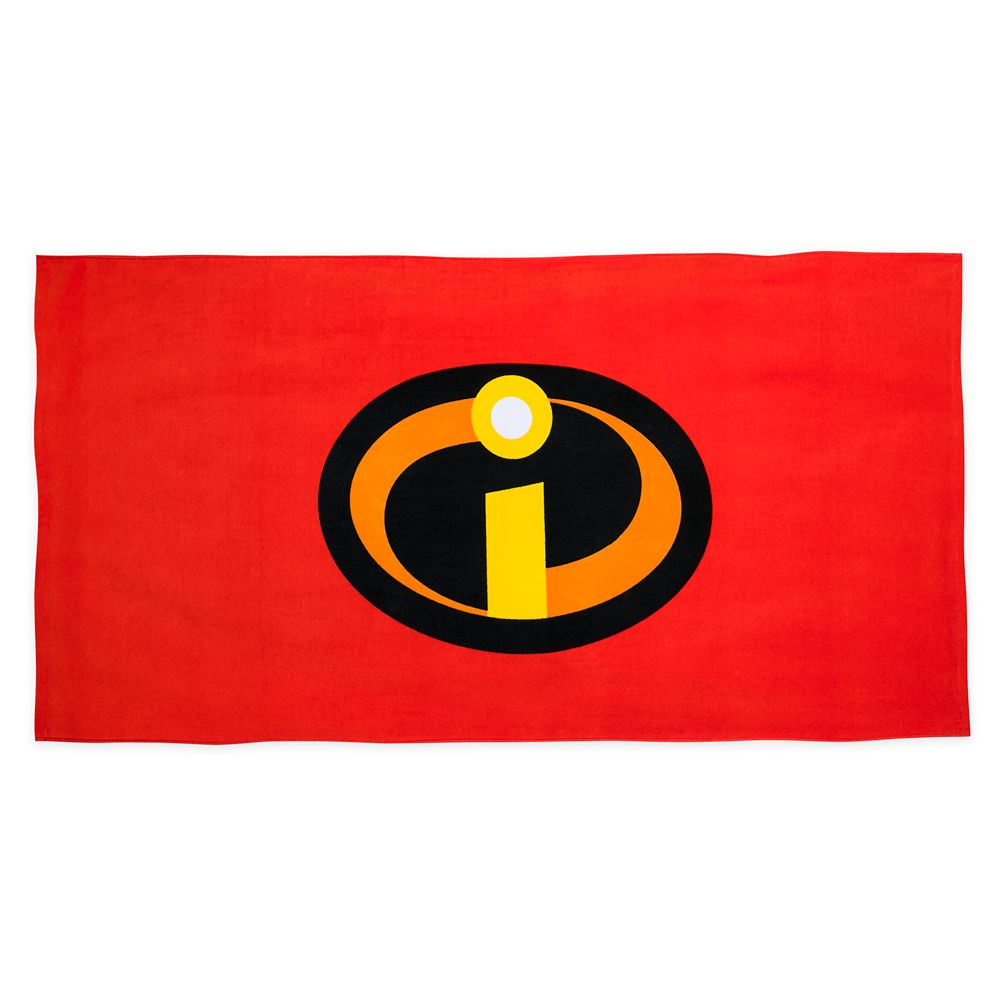 The Incredibles Beach Towel – Personalized