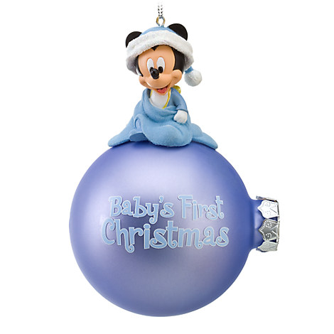 Baby's First Christmas Mickey Mouse Ornament