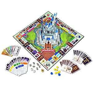 Disney Theme Park Edition III Monopoly® Game 7512002520901P