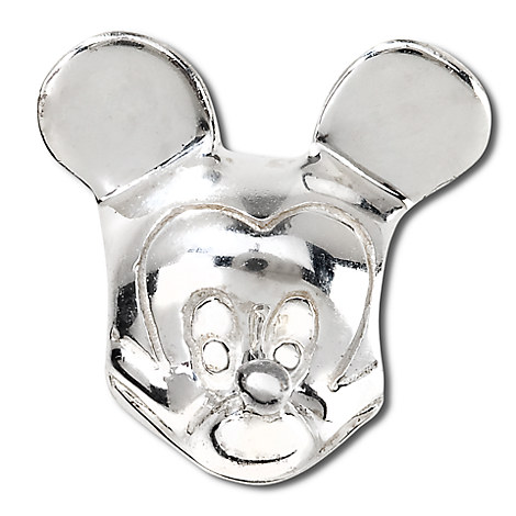 Sterling Mickey Mouse Head Chamilia Charm