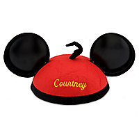Mickey Mouse Red Pants Ear Hat - Personalizable