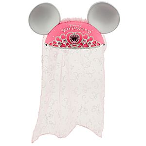 Disney Princess Ear Hat with Tiara