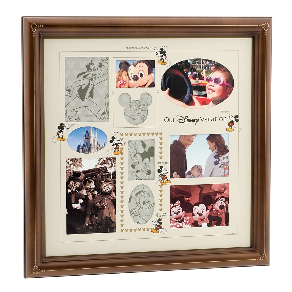 ''Our Disney Vacation'' Collage Photo Frame
