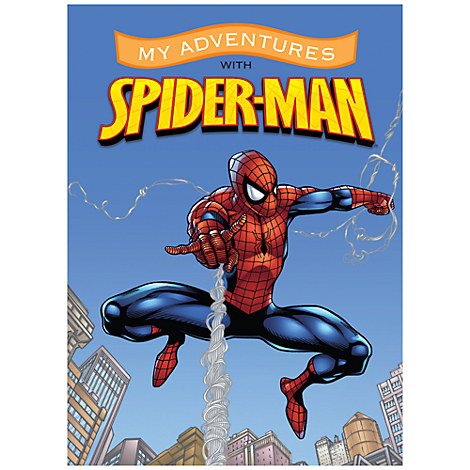 Spider-Man Personalizable Book - Standard Format