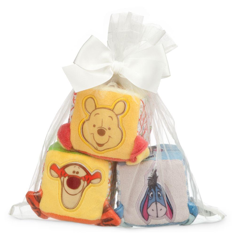 디즈니 곰돌이 푸우 피규어 블럭 Disney Winnie the Pooh and Pals Soft Blocks for Baby