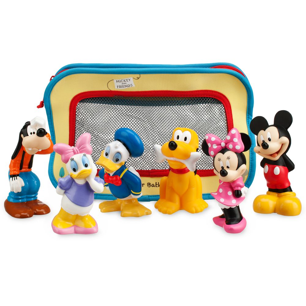 Mickey Mouse and Friends Bath Toys for Baby Official shopDisney